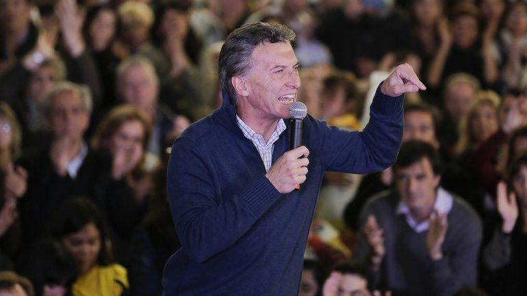 El candidato a Presidente de Cambiemos confirmó que irá al debate del 4 de octubre