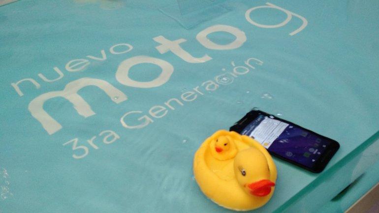 El nuevo Moto G llegó a la Argentina y nos quieren cagar